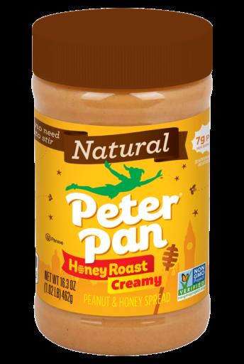 Peter Pan Natural Honey Roast Creamy Peanut Spread